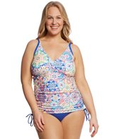 Sunsets Plus Size Mambo Emme Tankini Top (E/F Cup)