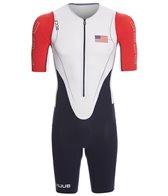 Huub Men's Dave Scott USA Long Course Sleeved Tri Suit