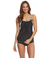 Beach House Sport Women's Standout Tropical Aspire Tankini Top
