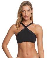 L-Space Swimwear Sensual Solids Serina Crop Bikini Top