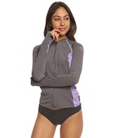 Xcel Women's Thalia Long Sleeve Front Zip Surf Tee