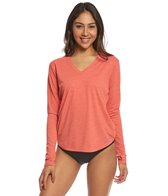 Xcel Women's Ventura V-Neck Long Sleeve Surf Tee
