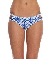 Bikini Lab Swimwear Tie-Dye Another Day Reversible Hipster Bikini Bottom