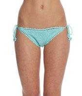 Bikini Lab Swimwear Take It Or Weave It String Tie Side Bikini Bottom