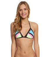 Bikini Lab Swimwear Dancing In The Beach Triangle Bikini Top