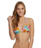 Hobie Swimwear Fleur To Love Triangle Bikini Top