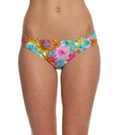 Hobie Swimwear Fleur To Love Hipster Bikini Bottom
