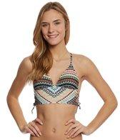Hobie Swimwear Do or Diamond Lace Side Midkini Top