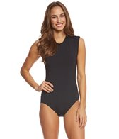 Seafolly Women's Active Cap Sleeve One Piece Swimsuit