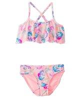 Raisins Girls' Seashell Beach Point Loma Bikini Set  (4-6X)