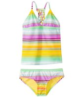 Raisins Girls' Newport Stripe Zuma Beach Tankini Set (7-16)