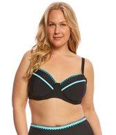 Jessica Simpson Swimwear Plus Size Woodstock Solids Underwire Bikini Top