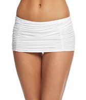 Coco Rave Solid Lux Rollover Swim Skirt