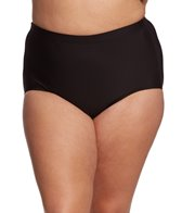 Shape Solver Plus Size Basic Bikini Bottom