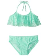 Gossip Girls' Gypsy Breeze Crochet Halter Bikini Set (7-16)