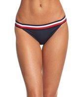 Tommy Hilfiger Signature Stripe Elastic Bikini Bottom