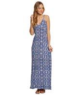 Lucy Love Blue Eclipse Wanderlust Maxi Dress