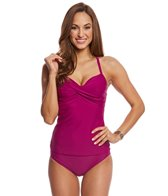 ClubSwim Couture Twist Underwire Tankini Top