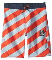 Volcom Boy's Stripey Half Stoney Boardshort (8-20)
