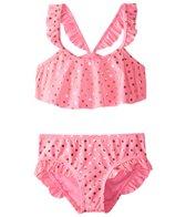 Hula Star Girls' Milkshake Bikini Set (2T-6X)