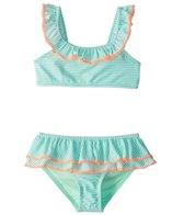 Hula Star Girls' Sailor Stripe Bikini Set (2T-6X)