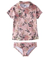 Billabong Girls' Beach Beauty Rashguard Set (4-14)