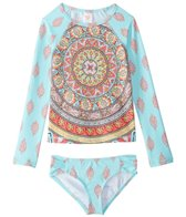 Billabong Girls' Samsara L/S Rashguard Set (4-14)