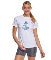 level-six-womens-keep-calm-paddle-on-short-sleeve-shirt
