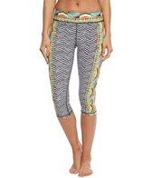 Trina Turk Women's Geo Engineer Capri Legging