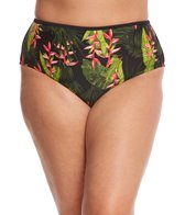 Paramour Plus Size Mykonos High Waisted Bikini Bottom