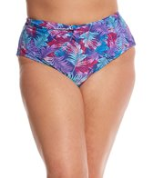 Paramour Plus Size St. Barths High Waisted Bikini Bottom