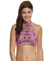 O'Neill Swimwear Surf Bazaar High Neck Halter Bikini Top