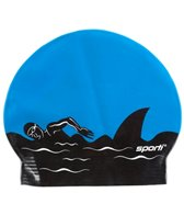 Sporti Predator Latex Swim Cap