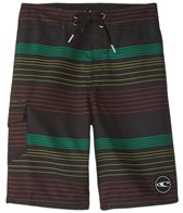 O'Neill Boys' Santa Cruz Stripe Boardshort (8-20)