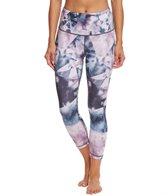 Lucy Women's Printed Studio High Rise Hatha Capri Legging
