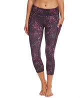 Lucy Women's Printed Power Train Pocket Capri
