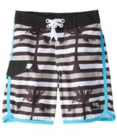 Platypus Australia Boys' Optic Stripe Slim Boardshort (8-14)
