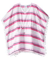 Snapper Rock Girls' Cabana Stripe Kaftan Cover Up (2T-16)