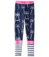 Snapper Rock Girls' Midnight Palm Swim Legging (6-16)