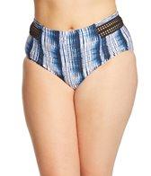 Raisins Curve Plus Size Indigo Nights Montego Bikini Bottom