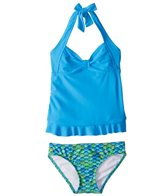 Fin Fun Zoey's Aussie Green Mermaid Tankini Set (4T-12)