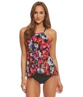 Fit4U Flamenca Mesh High Neck Tankini Top
