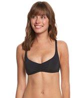 Roxy Strappy Love Athletic Crop Bikini Top