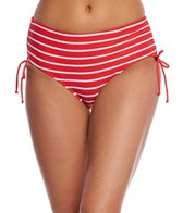 Beach House Tipped Stripe Abbey Side Tie Bikini Bottom