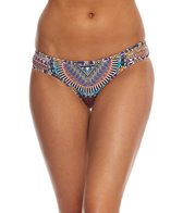 Red Carter Tribal Daze Reversible Classic Bikini Bottom
