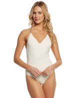 4cb54aa3d5412 Red Carter Griffin V-Neck One Piece Swimsuit at SwimOutlet.com ...