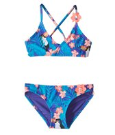 Roxy Kids Girls' Little Tropics Athletic Bikini Set (2T-6)