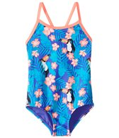 Roxy Kids Girls' Little Tropics One Piece Swimsuit (2T-6)