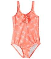 Roxy Kids Girls' Palmy Tiny One Piece Swimsuit (2T-7)