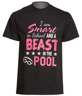 AMBRO Manufacturing Unisex Beast In The Pool T Shirt